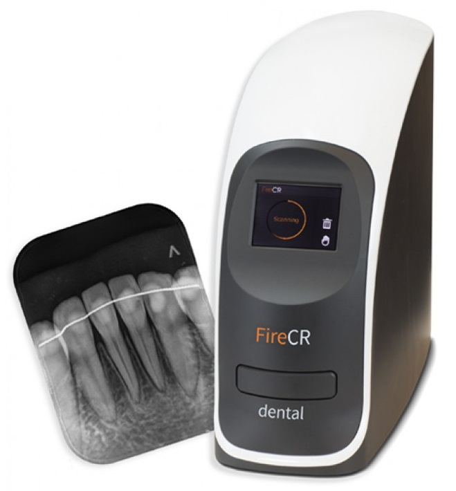 Fire CR Phosphor Plate Dental Digital X-Ray System