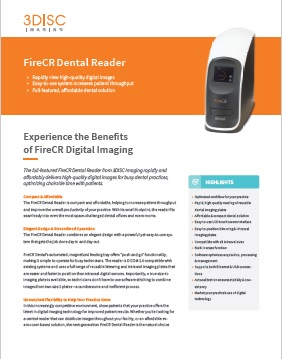 FireCr PSP Dental Scanning System Brochure