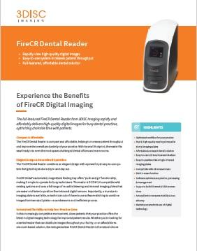 FireCr PSP Dental Scanning System Brochure