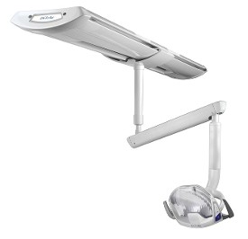 DCI Edge Series 4 Led Track Mount Dental Operatory Light
